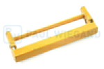 Bracket Geesink Pivot point left/right primed yellow