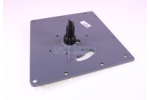 Anchor plate Dulevo 5000 with Pivot pin Deflector pulley Deflector pulley left