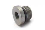 blanking screw with hexagon socket Schmidt standard parts R1/2""