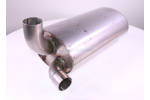 Silencer Johnston Exhaust system l: 530 b: 300 h: 200