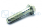 Hexagon head bolt with shank DIN/ISO 931/4014 M10x45 galvanised