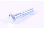 Hex head screw DIN/ISO 931/4014 M8x45 8.8