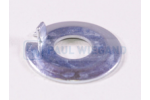 Lock washer DIN 432 galvanised D: 22 d: 8.5 h: 2