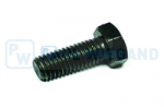 Hex head screw DIN/ISO 933/4017 M12x30 galvanised 8.8