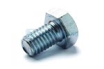 Hex head screw DIN/ISO 933/4017 M8x12 galvanised 8.8