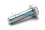 Hex head screw DIN/ISO 933/4017 M10x35 galvanised 8.8