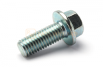 Hex screw with flange DIN/ISO 6921/8102 M12x30 galvanised 8.8