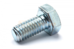 Hex head screw DIN/ISO 933/4017 M8x16 galvanised