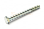 Hexagon head bolt with shank DIN/ISO 931/4014 M10x100 galvanised 8.8