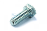 Hex head screw DIN/ISO 933/4017 M8x20 galvanised 8.8