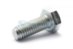 Hex head screw DIN/ISO 933/4017 M6x16 galvanised 8.8