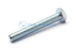 Hex head screw DIN/ISO 933/4017 M6x40 galvanised 8.8