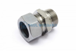 Male end fitting Bucher Municipal Standard parts Combined cooler Combined cooler GE28L - R1""