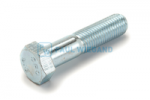 Hexagon head bolt with shank DIN/ISO 931/4014 M16x70 galvanised 8.8